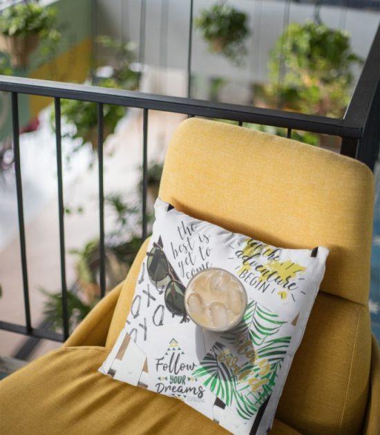 Follow Your Dreams Cute Pillow Case