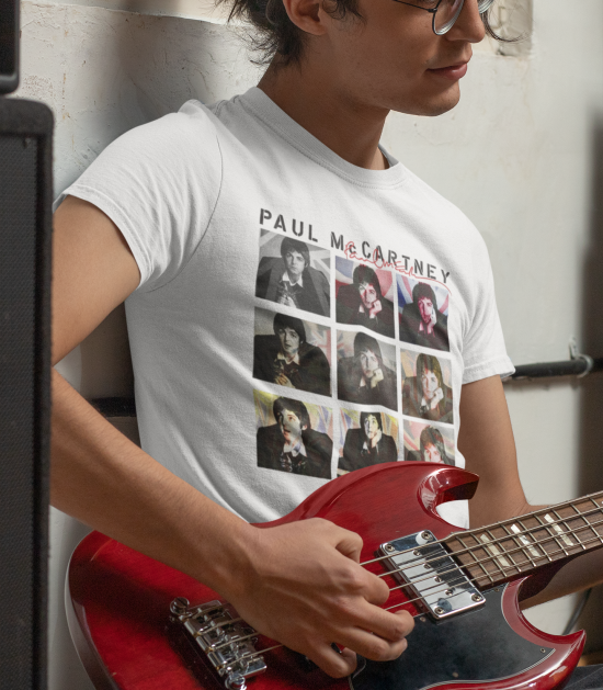 Paul McCartney Nine Jacks Photo T-Shirt