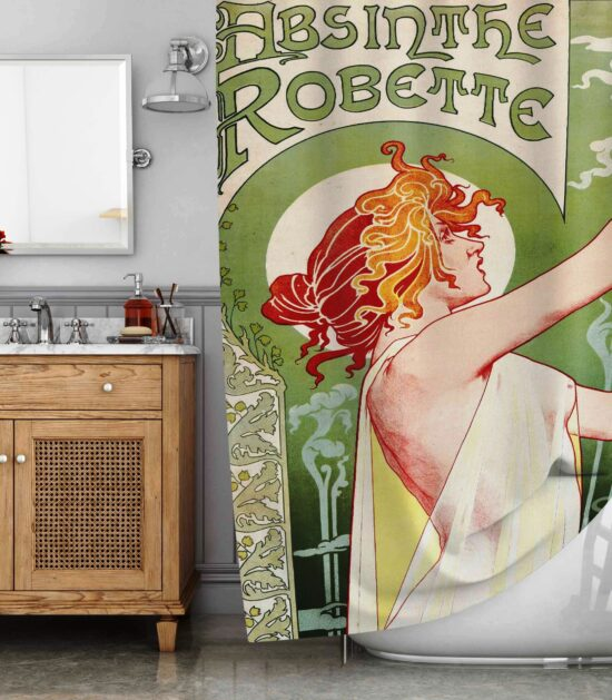 Absin The Robette Shower Curtain
