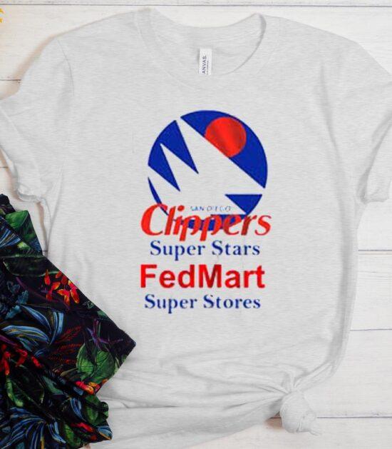 Clippers Super Stars Fedmart Super Stores T-Shirt