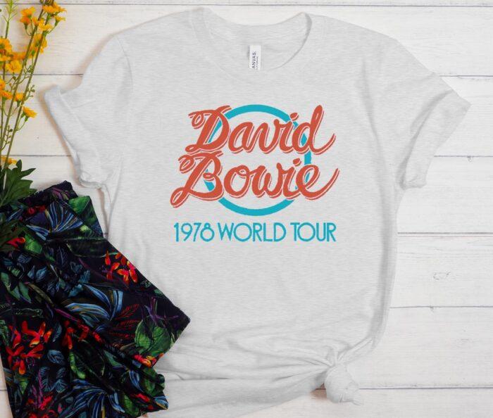 David Bowie World Tour 1978 T-Shirt