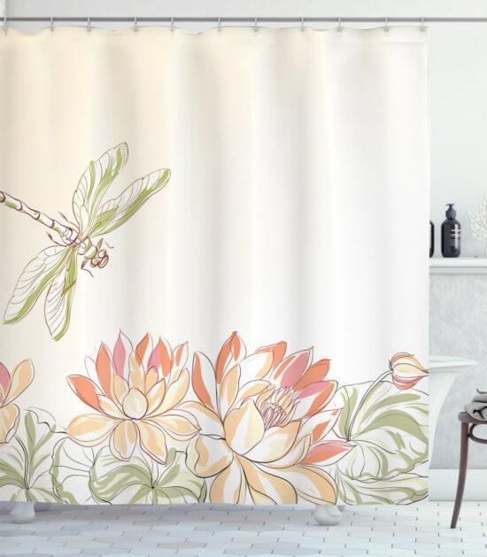 Dragonflies Life Shower Curtain