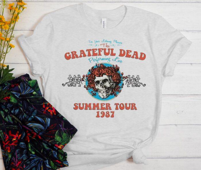 Grateful Dead Summer Tour 1987 T-Shirt