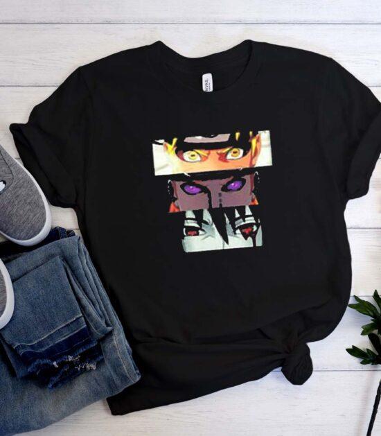 Japan Anime Naruto Sasuke T-Shirt
