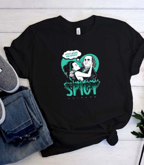 Little Advice Add Spice T Shirt Style