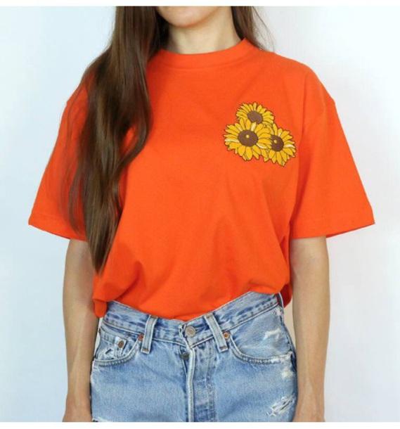 Sunflower Pocket T Shirt Style