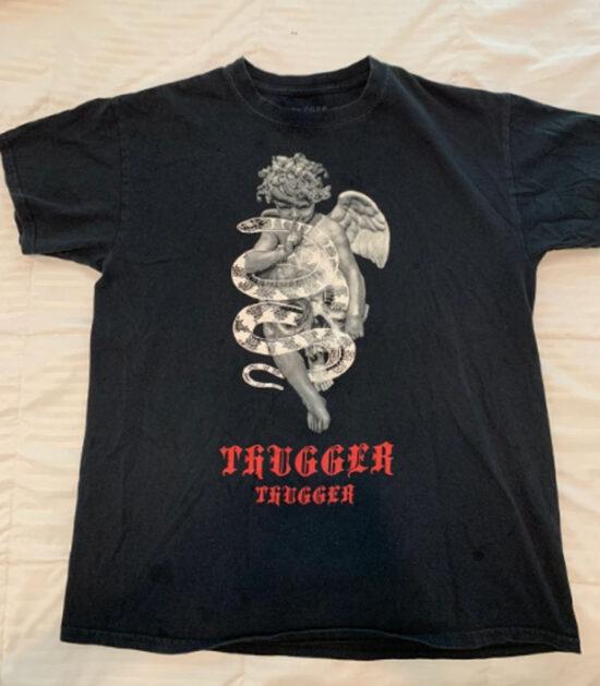Thugger Snake Angel T-shirt