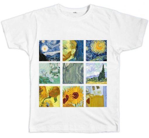 Van Gogh Paintings T-shirt